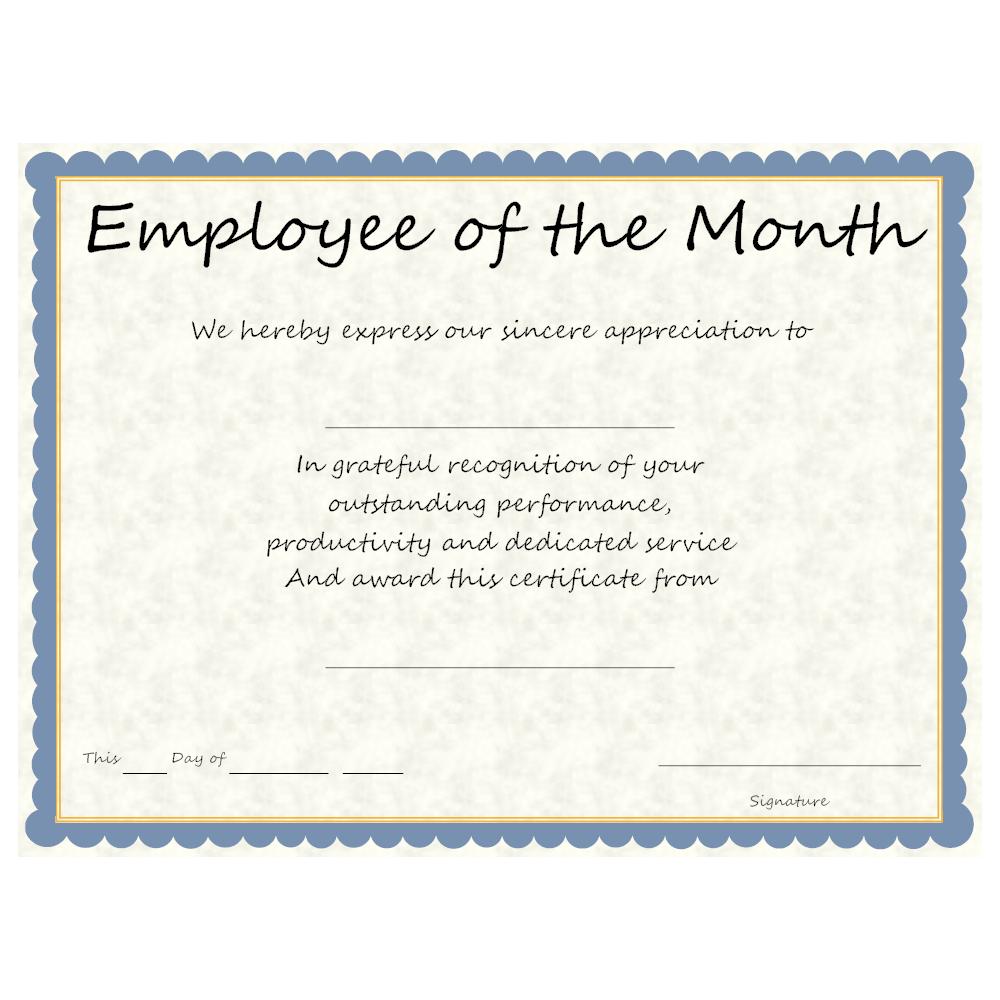 SmartDraw  Example Of Award Certificate