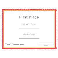 First Place Award