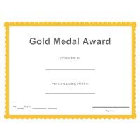 Gold Medal Award