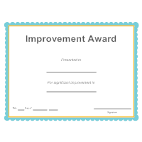 Improvement Award