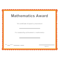 Mathematics Award