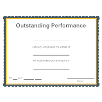 Outstanding Performance Award