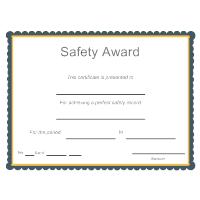 Safety Award
