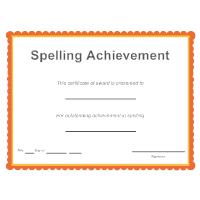 Spelling Achievement