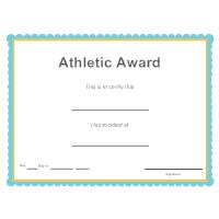 Sports - Athletic Award