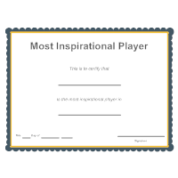 Sports - Most Inspirational Player