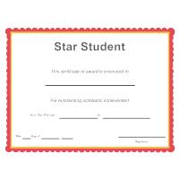 Star Student Award