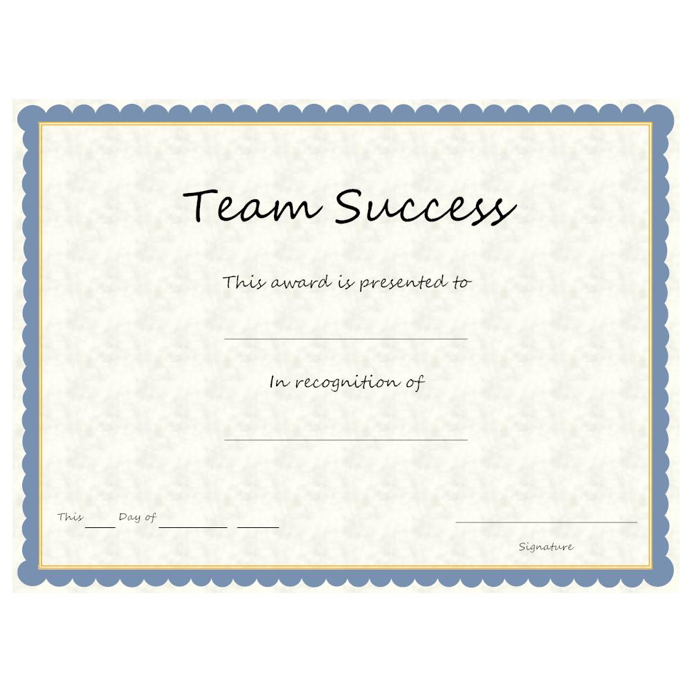 Example Image: Team Success