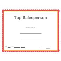 Top Salesperson