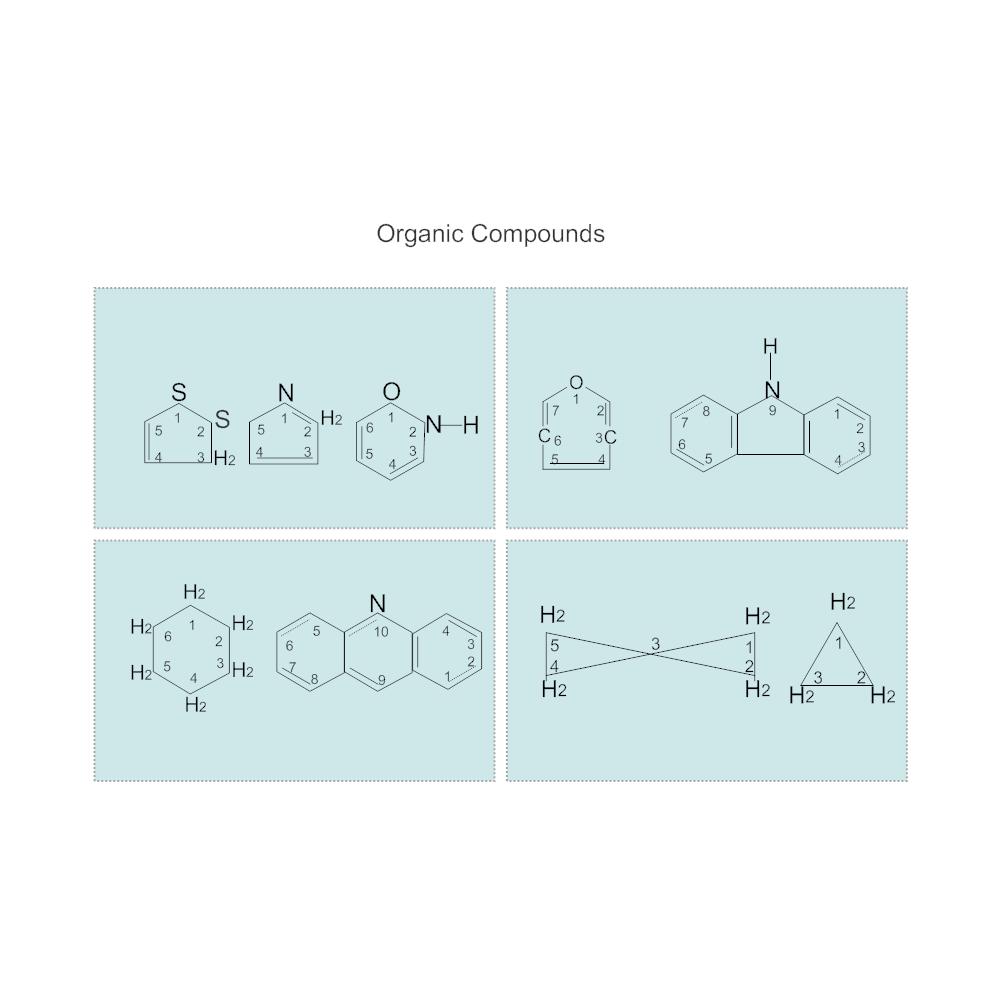 Example Image: Organic Compound Diagram
