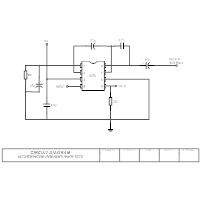 Circuit Diagram - Microphone Pre-Amplifier