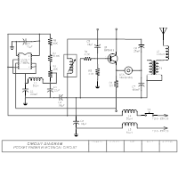 Circuit Diagram - Pocket Pager