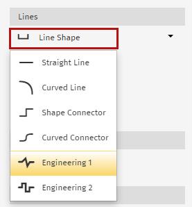 Line shapes