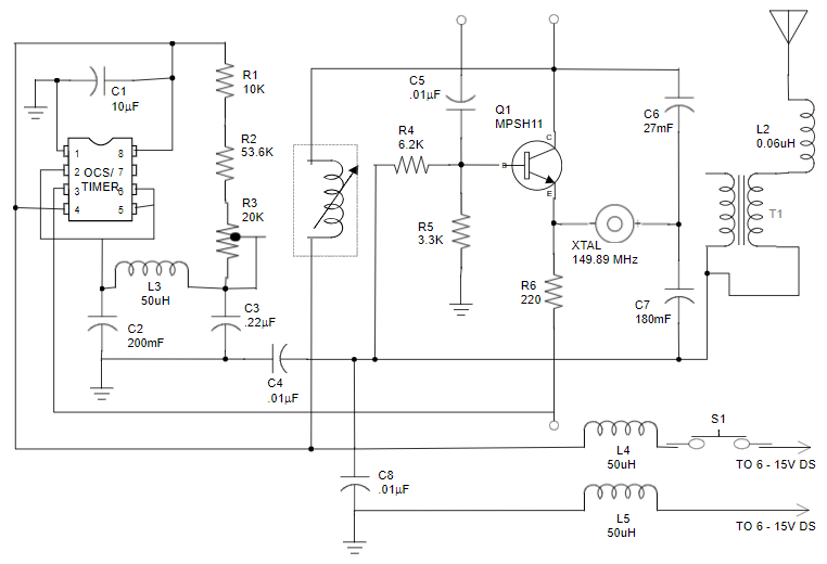 Draw Circuit Diagram Software | Circuit Diagram Maker Free Download Online App