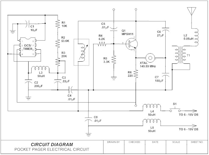 Circuit Diagram: Contact Wiring Diagram Drawing At Sewuka.co