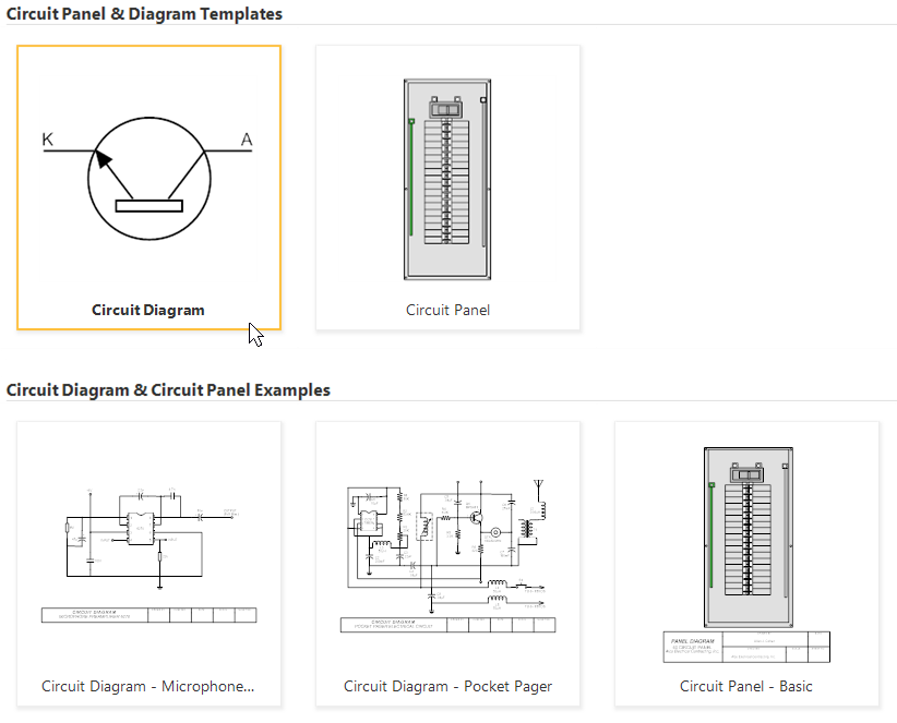 how to draw electrical diagrams and wiring diagrams rh smartdraw com electrical ckt diagram Ckt Thailand