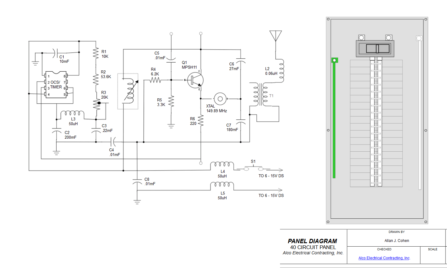 Electrical Control Schematic Software - Wiring Diagram Services •