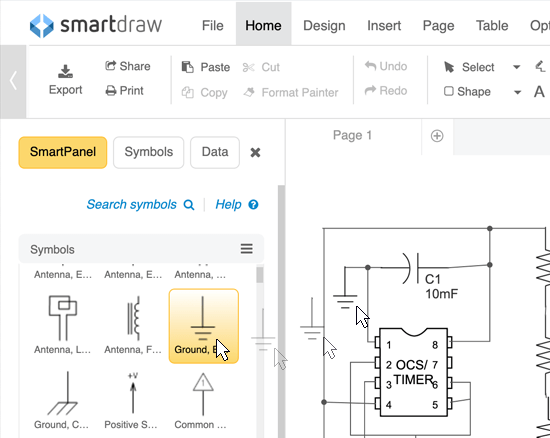 electrical design software - make circuit drawings, try it free electrical design diagram engineering design diagram