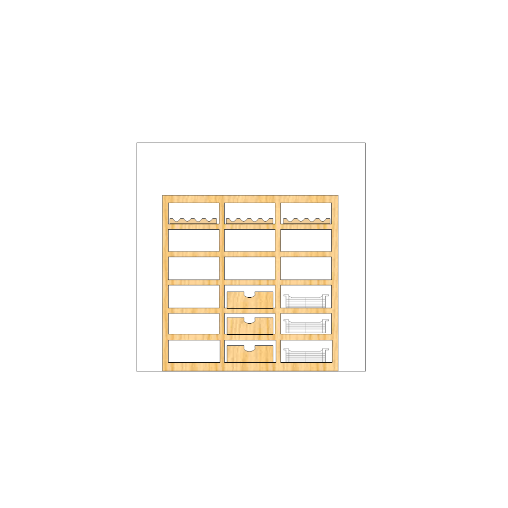Example Image: Cabinet Design