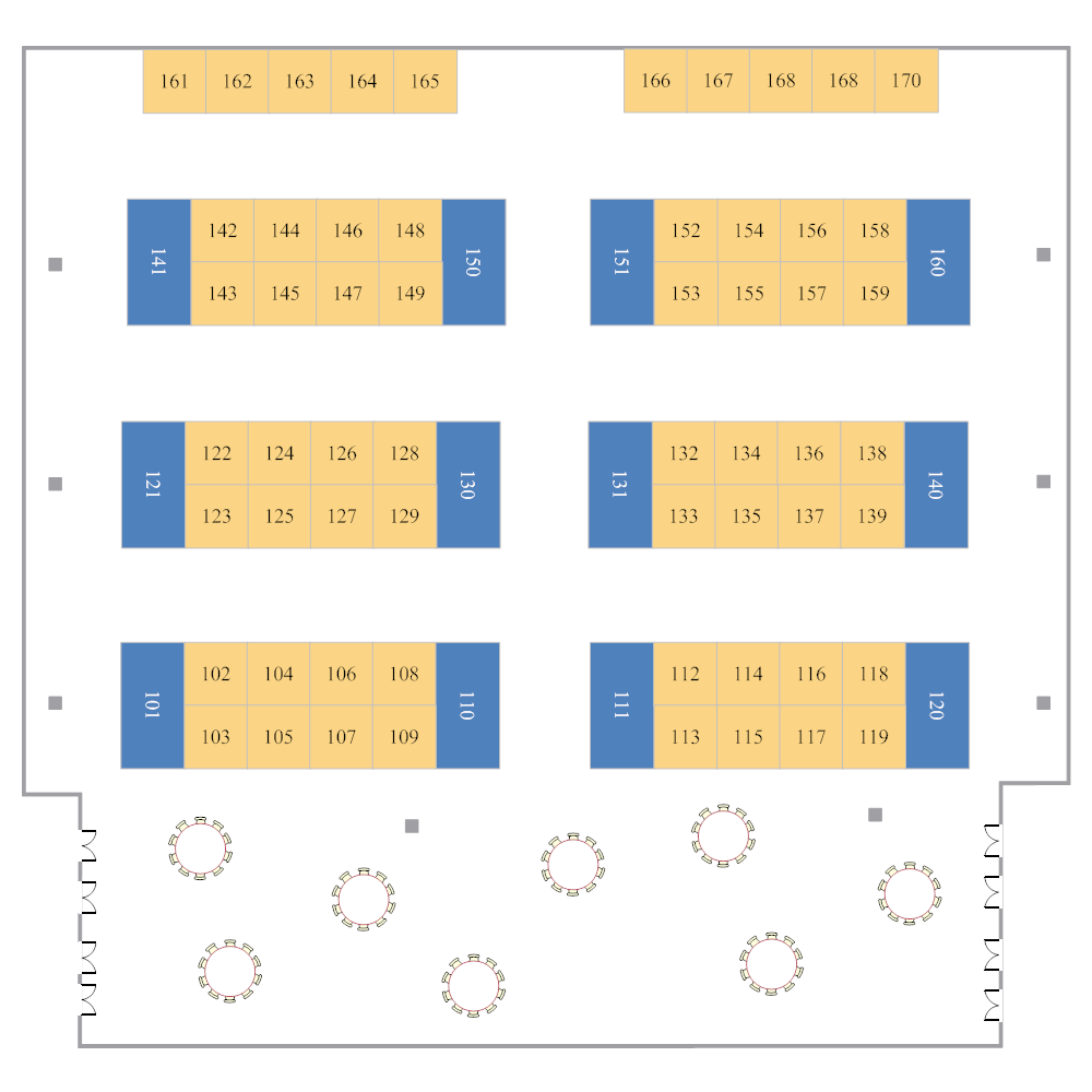 Example Image: Trade Show Layout
