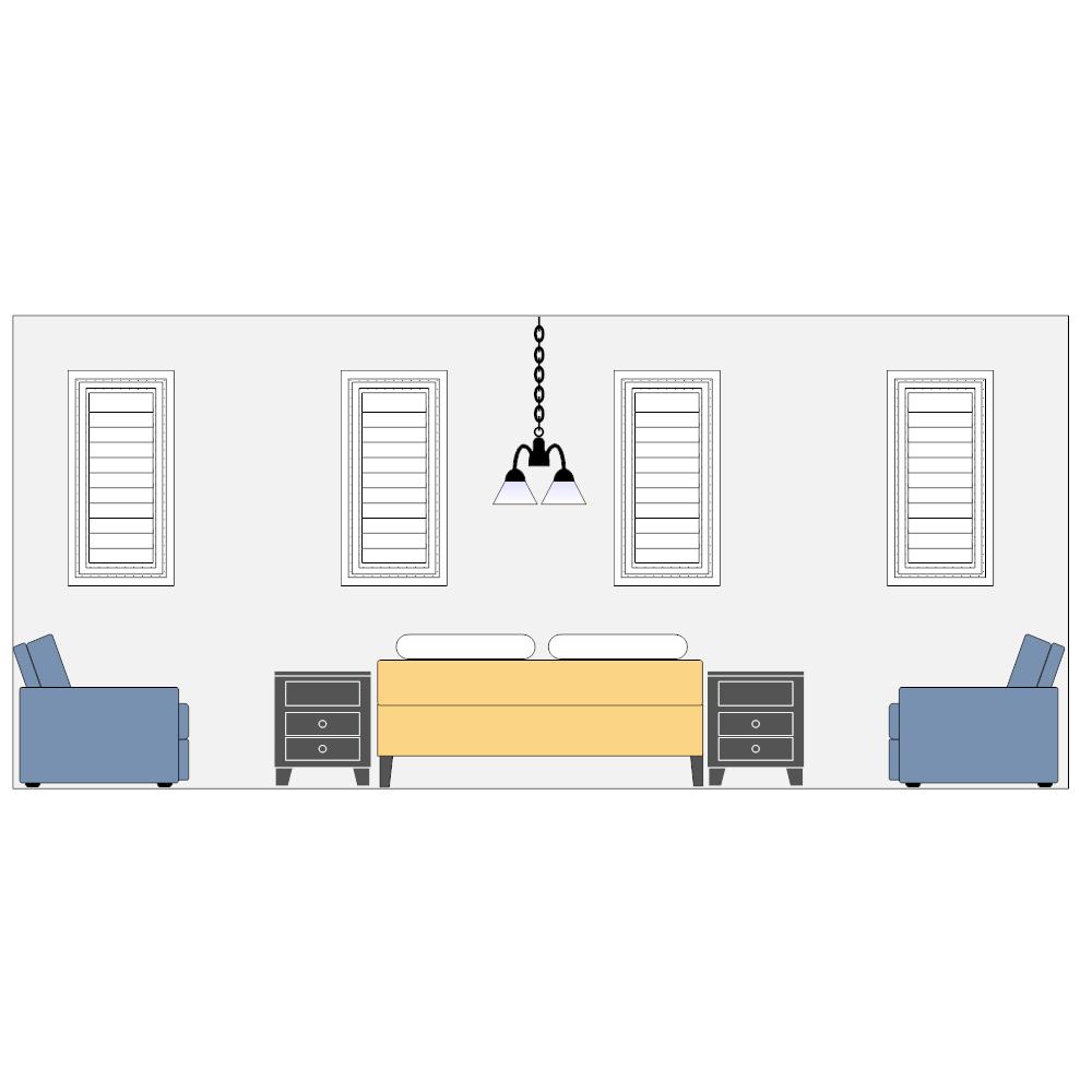 Example Image: Bedroom Elevation - 1