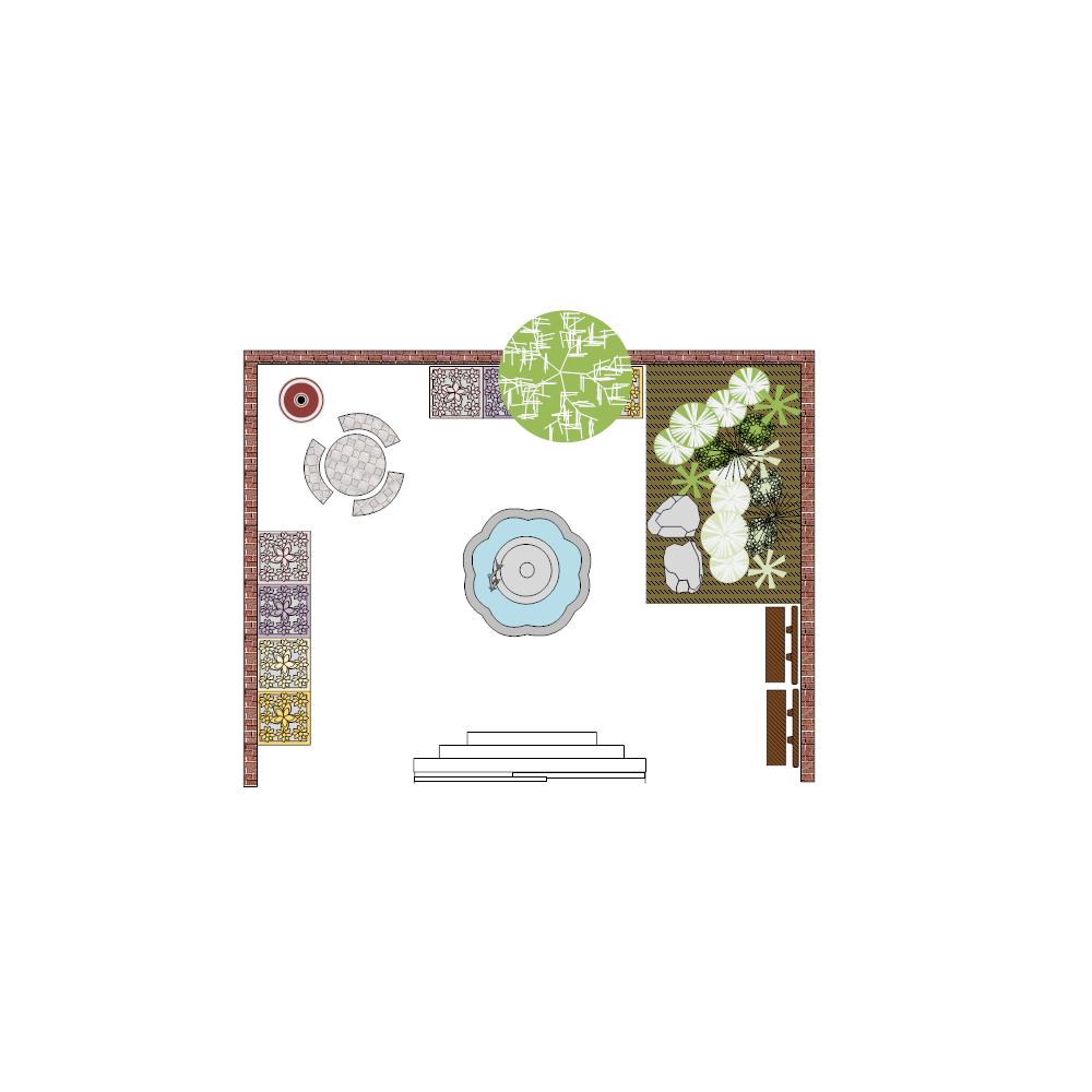 Example Image: Patio Landscape Design