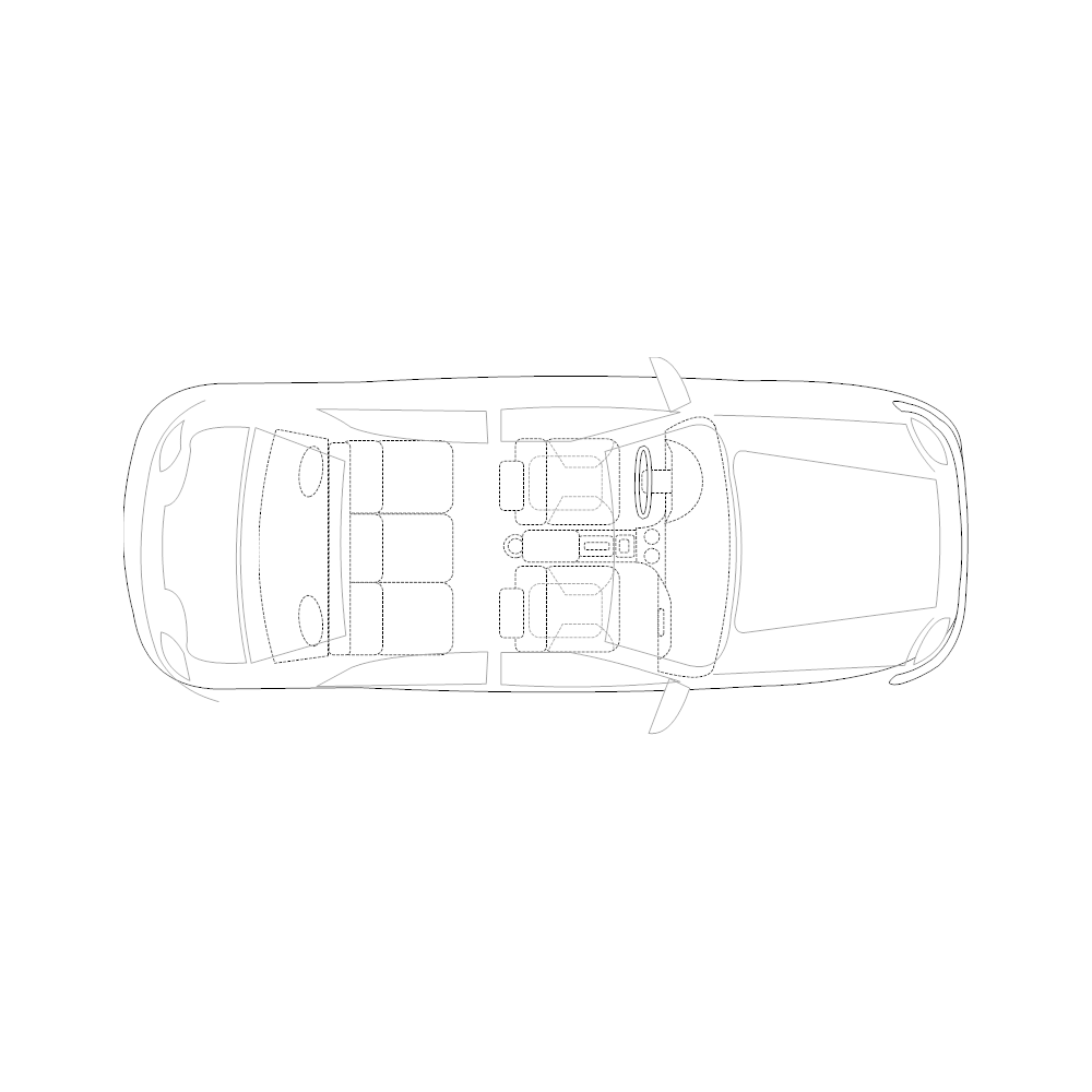 Example Image: Family Car - 2 (Elevation View)