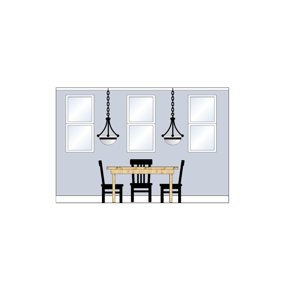 Example Image: Dining Room Elevation - 2