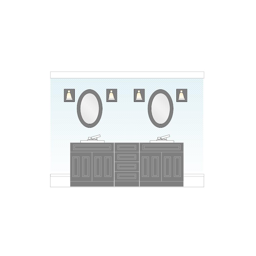 Example Image: Bathroom Elevation - 1