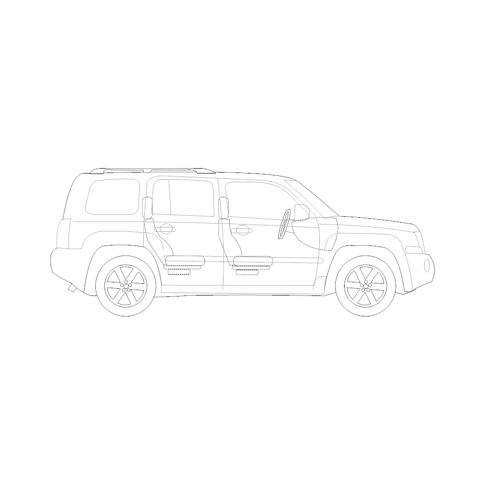 Example Image: SUV - 2 (Side View)