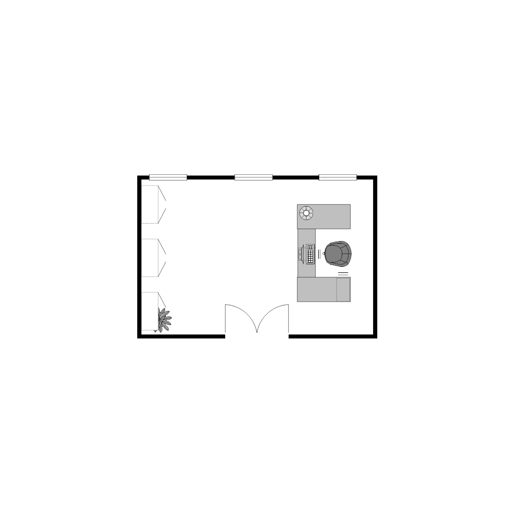 Example Image: Office 18x12