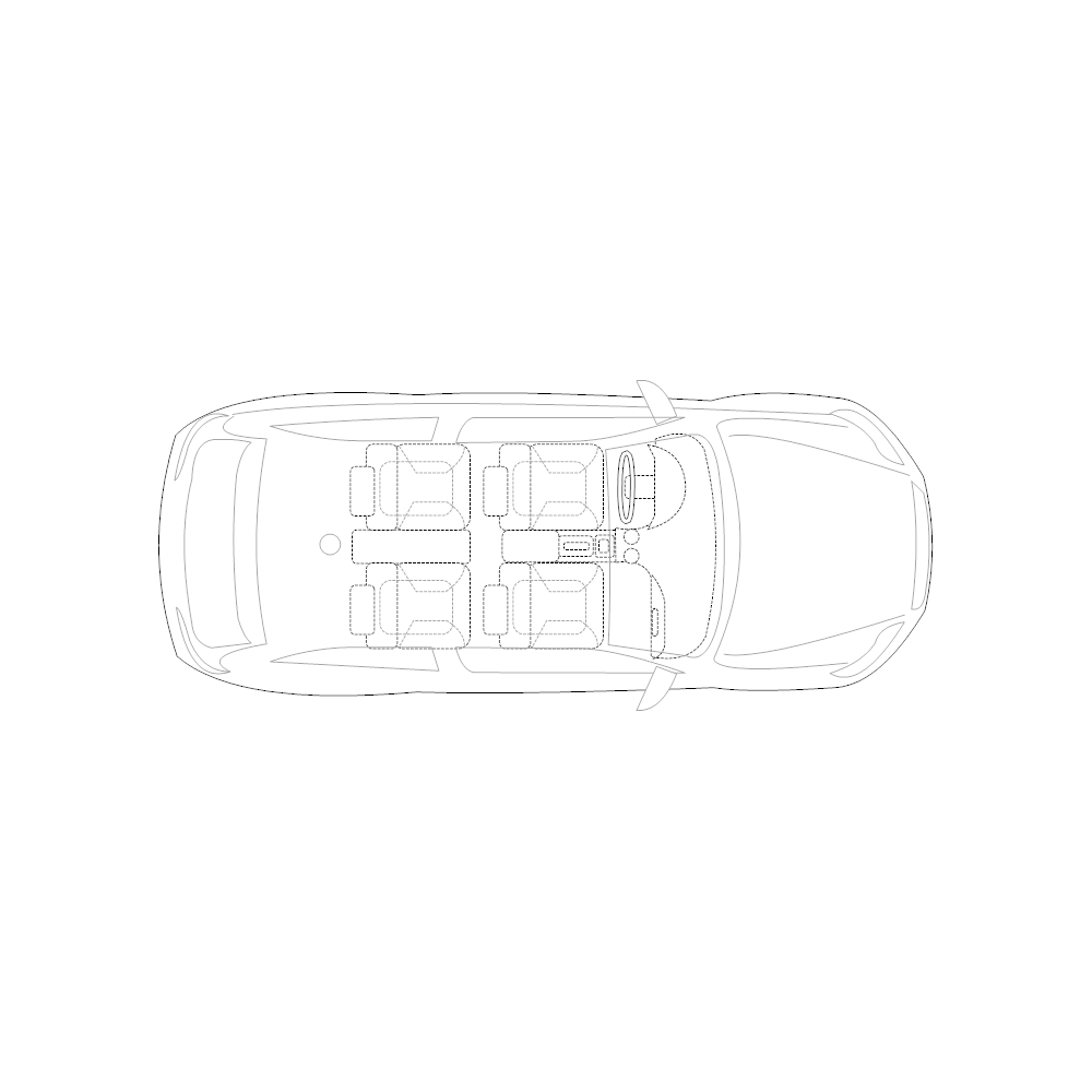 Example Image: 2-Door Compact Car - 2 (Elevation View)
