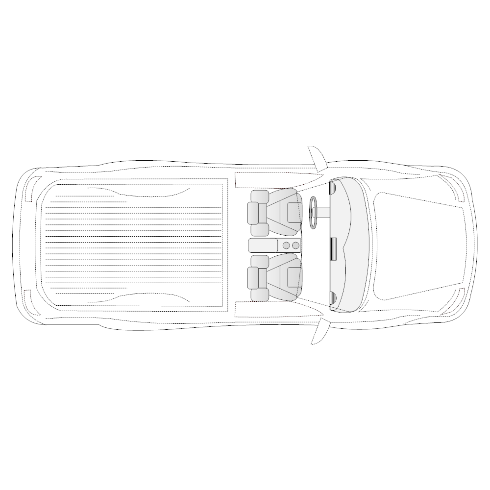 Example Image: Pickup Truck - 1 (Elevation View)