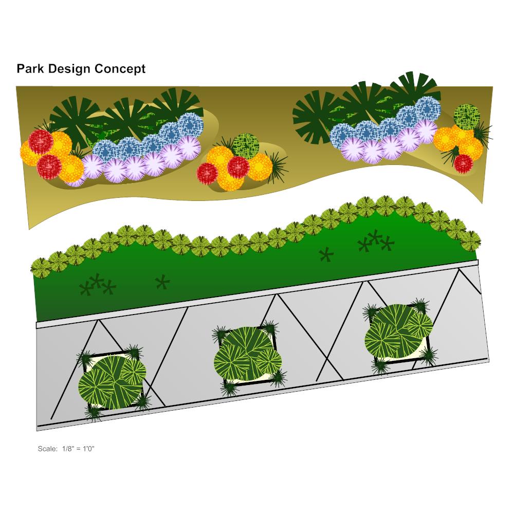Example Image: Park Plan