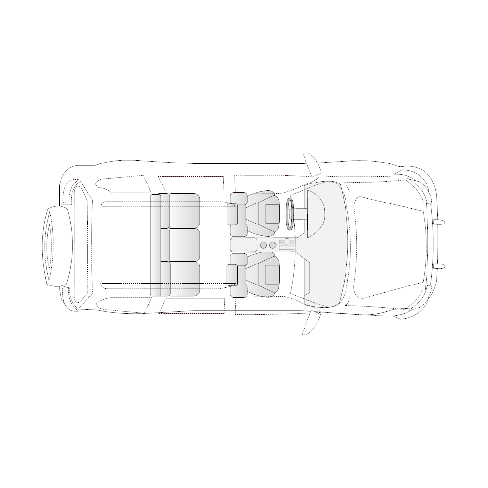 Example Image: SUV - 1 (Elevation View)