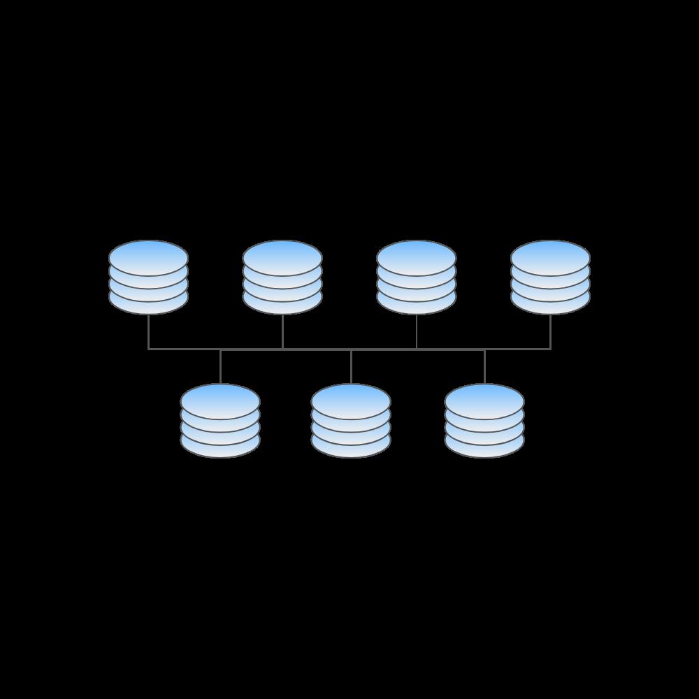 Example Image: LAN Center Network Topology