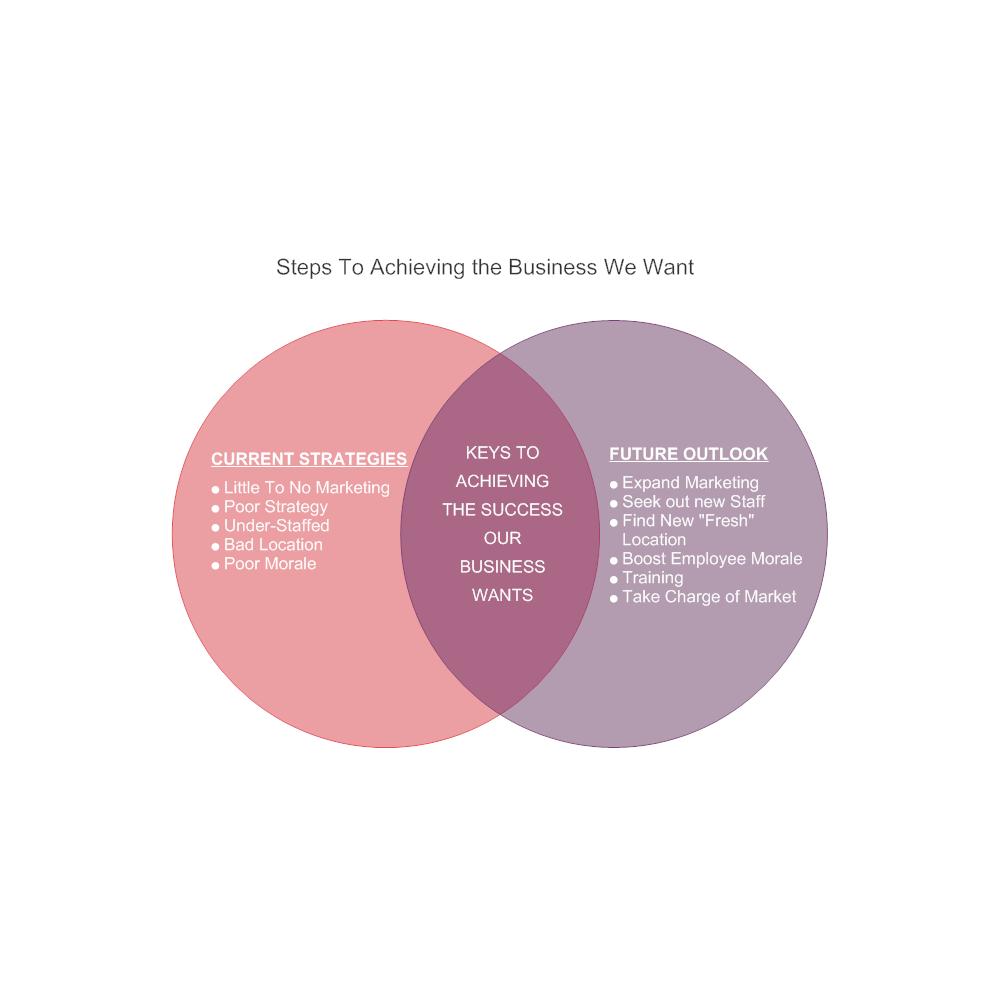 Example Image: Business Direction Venn Diagram