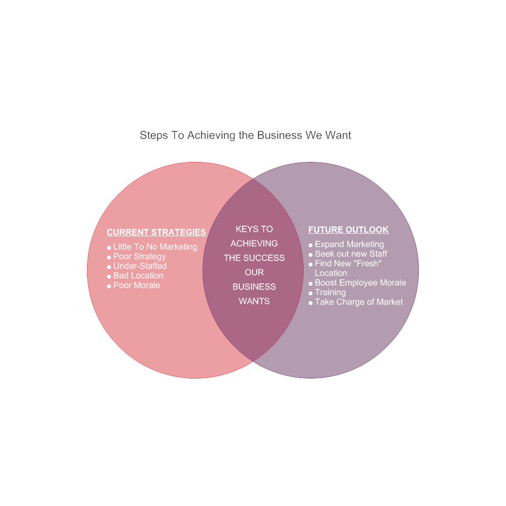 Example Image: Business Direction Venn Diagram