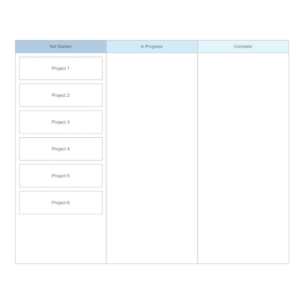 Example Image: Kanban Board Template