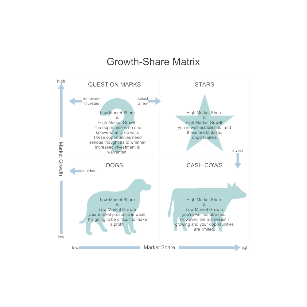 Example Image: Growth-Share Matrix Guidelines