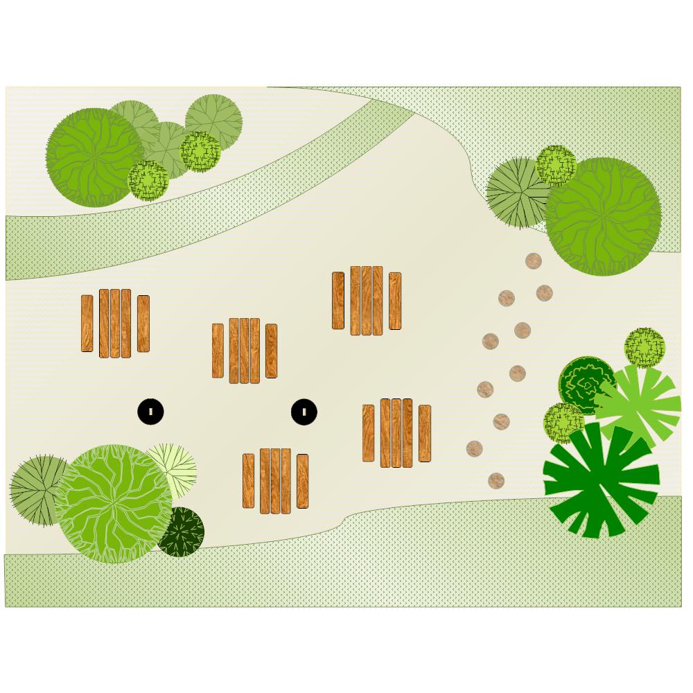 Example Image: Garden Layout