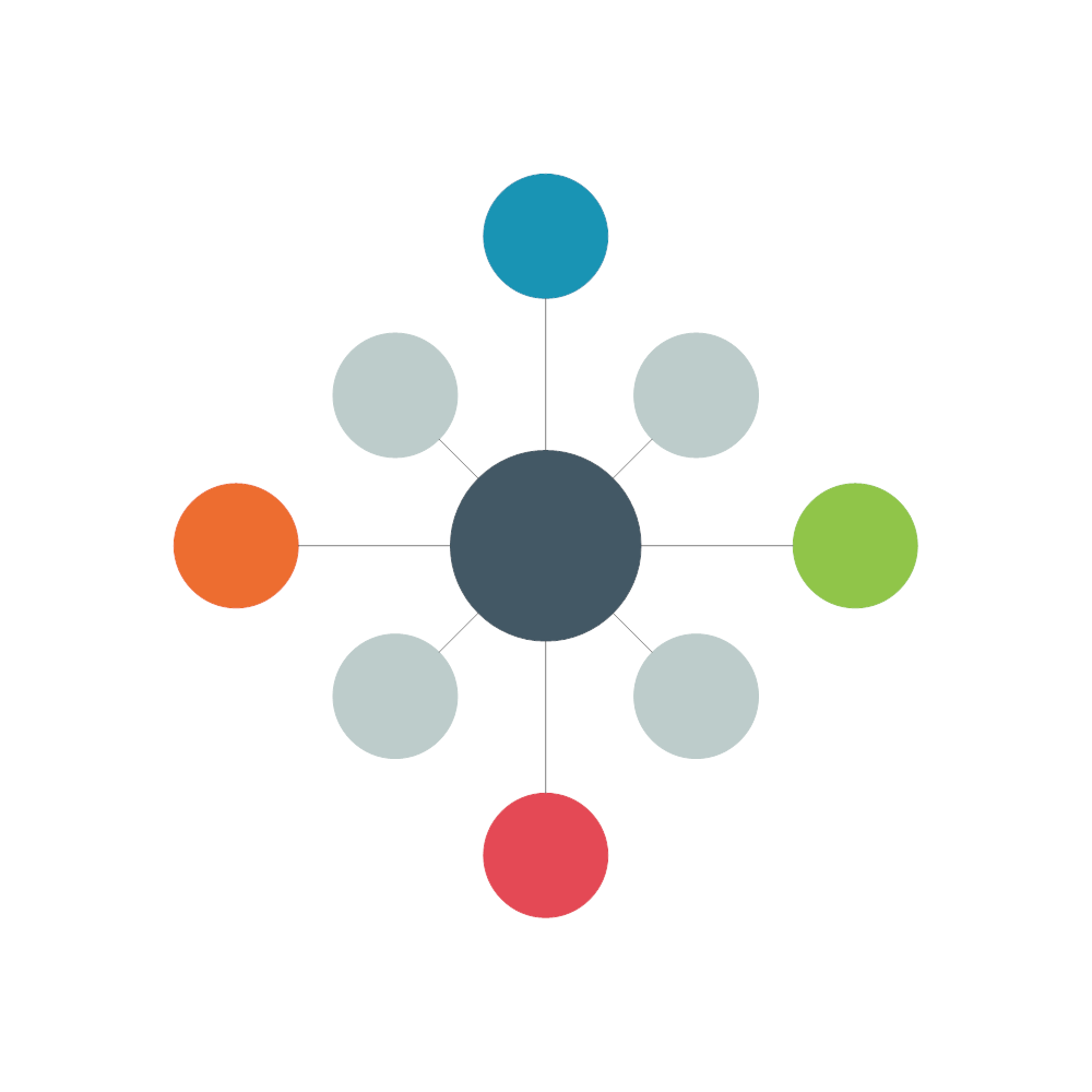 Example Image: Interrelationship Diagram Template - 1