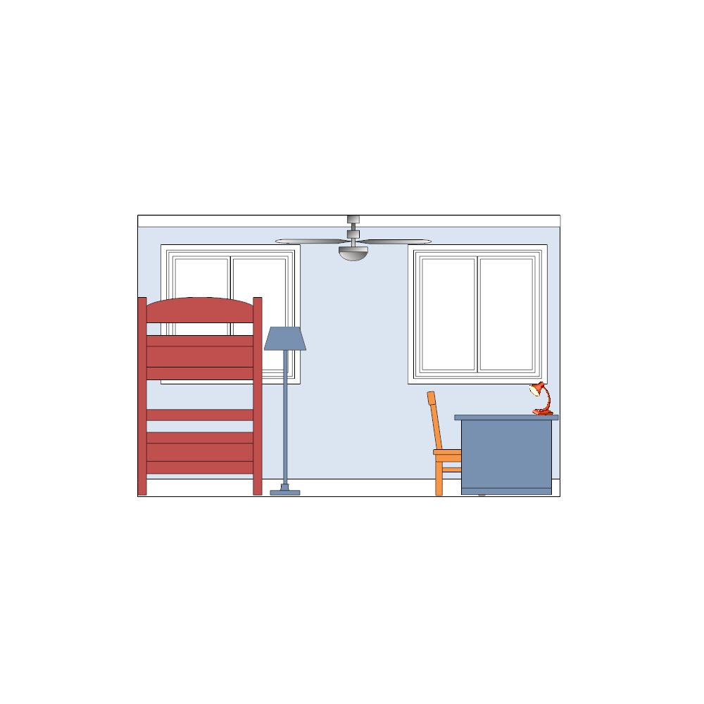 Example Image: Bedroom Elevation - 2