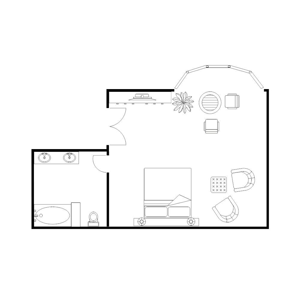 Example Image: Master Bedroom Plan