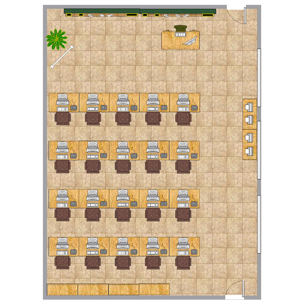 Example Image: Computer Class Seating Chart