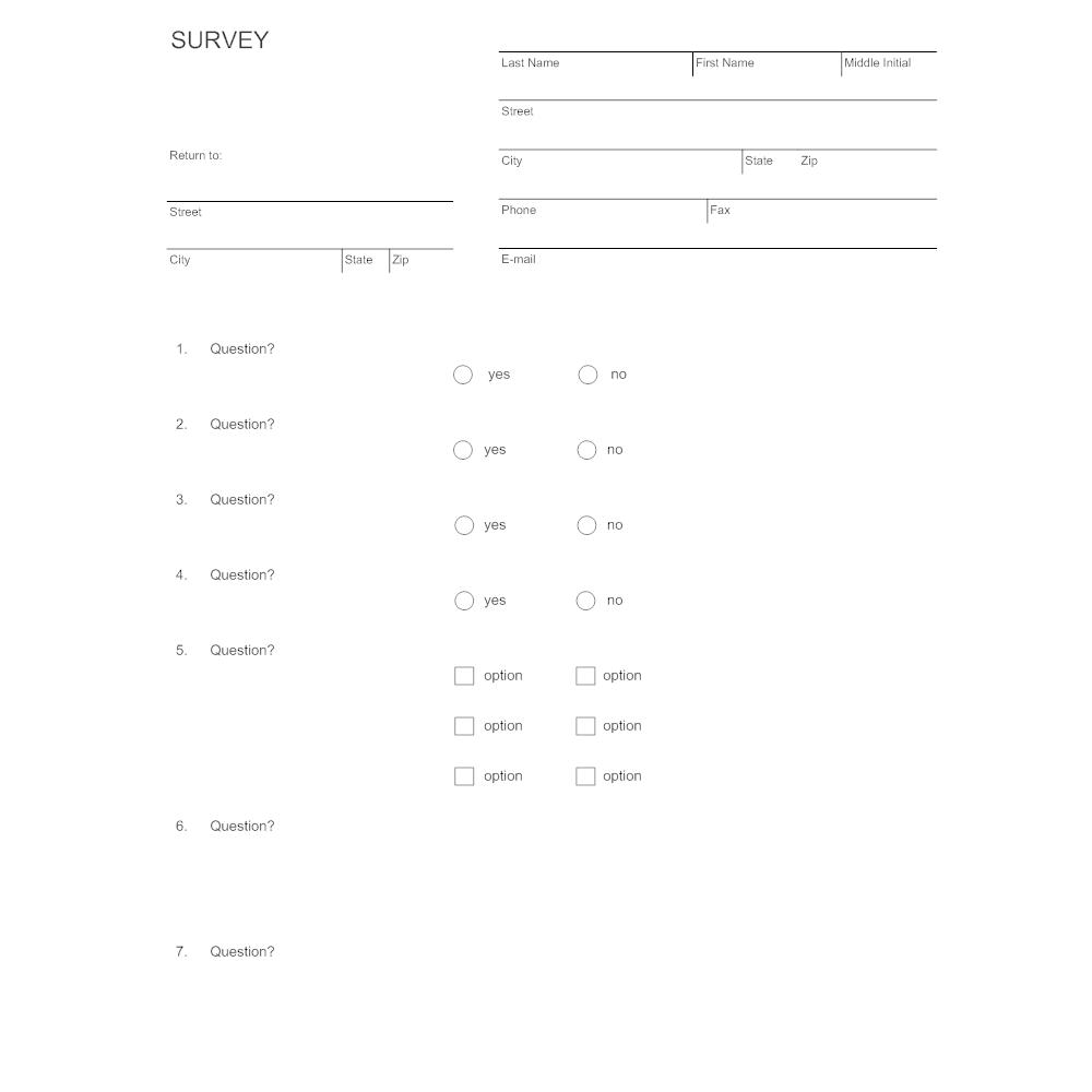 Example Image: Survey