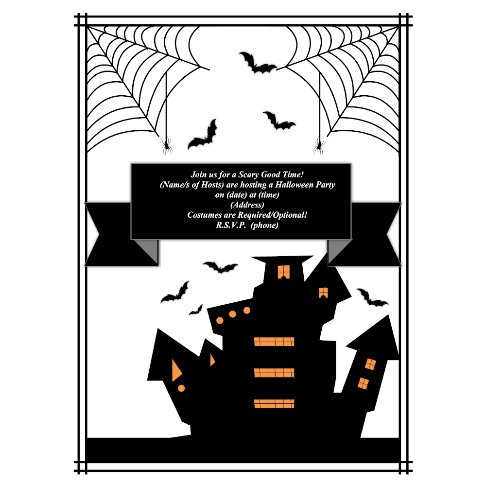 Example Image: Halloween Party Flyer