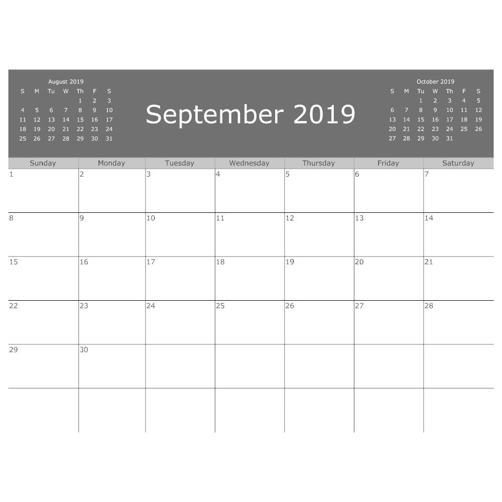 Example Image: Calendar Example
