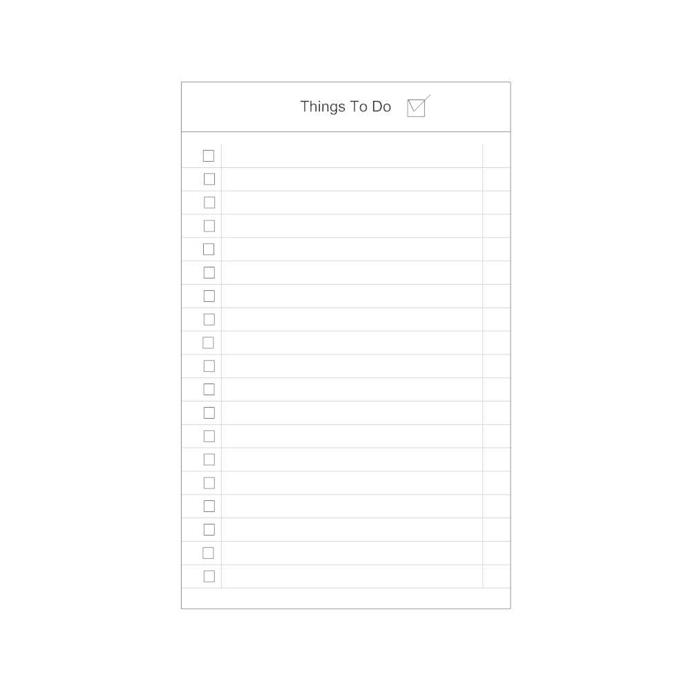 Example Image: To Do List