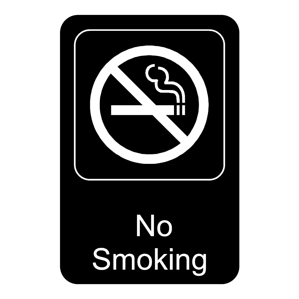 Example Image: No Smoking Sign 3